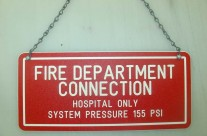 Fire Dept. Sign