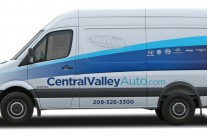 Central Valley Automotive Sprinter Van Wrap