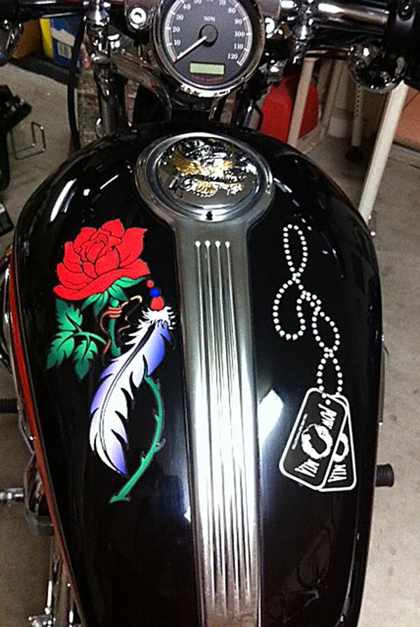 motorcycle tank graphics