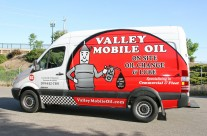 Valley Mobile Oil Sprinter Wrap