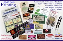 Business Cards, Postcards, Brochures & More!