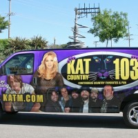 KAT Country Purple Van