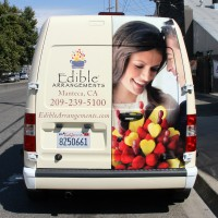 Edible Arrangements Van Wrap