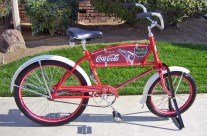 Coca Cola Bicycle Graphics
