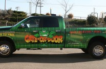 Gate or Door Full Truck Wrap