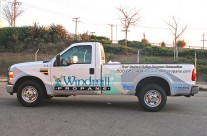 Windmill Propane Vehicle Wrap