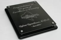 Dr. Rosenbaum 20 Year Award Plaque