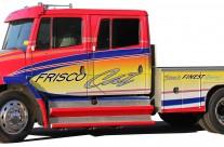 Frisco Cat Large Truck Wrap