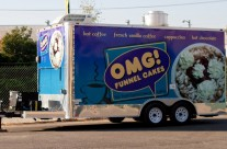 Funnel Cake Food Trailer Wrap