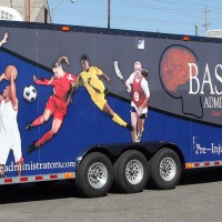 Baseline Administrators Full Trailer Wrap