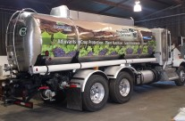 Crop Protection Services Tanker Wrap