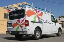 1st Light Energy Solar Truck Graphics