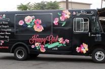 Happy Girl Flowers Wrap