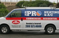 Air Pro Heating and A/C Van Wrap