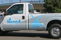 Sierra Propane Truck Wrap