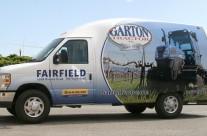 Garton Tractor Unicell Van Wrap