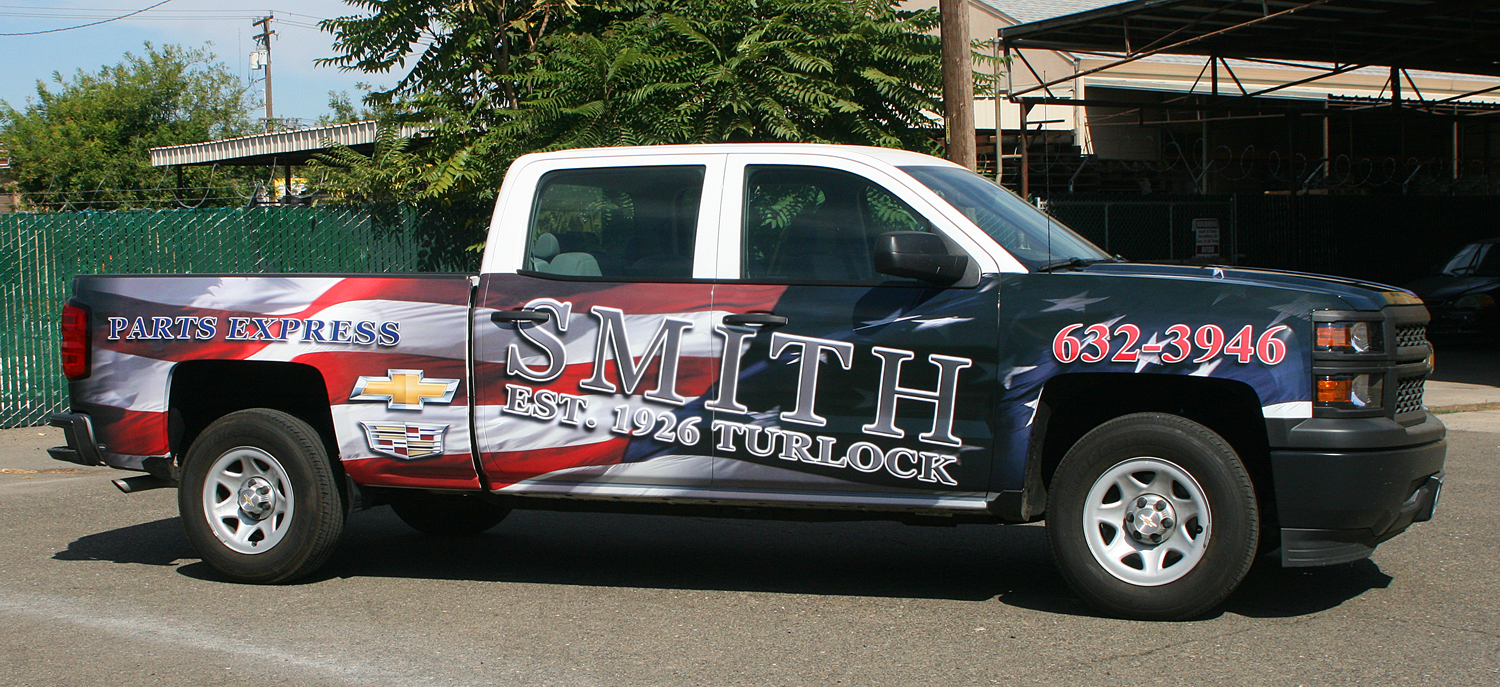 smith chevrolet turlock http vhsigns com vehicle wrap smith chevrolet turlock