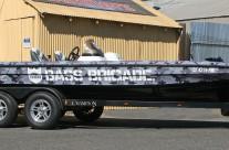 Bass Brigade – bass boat wrap