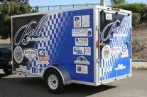 Bell Cycling Trailer Wrap