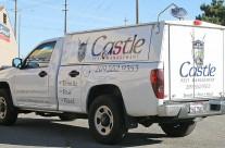 Castle Pest Control Truck Graphics