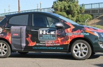 HAC Heating & Air Conditioning Car Wrap