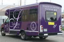 The Stratford Retirement Community Shuttle Bus