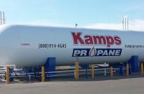 Kamps Propane tank graphics
