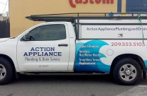 Action Appliance Truck Wrap