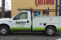 Aguilar Landscaping Truck Graphics