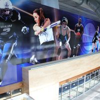 Central Catholic High School Gym Lobby Mural