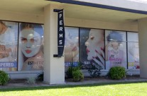 Paul Mitchell School Window Graphics