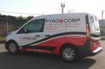 Pyro Corp Van Wrap