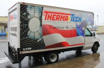 Thermo Tech Box Truck Wrap