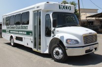 YCCD – Yosemite Community College Shuttle Van Graphics
