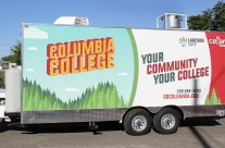 Columbia College / YCCD Food Trailer Wrap