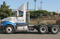 Kurios semi truck fender wrap