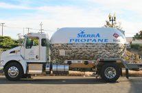 Sierra Propane Semper Fi Fund tanker wrap