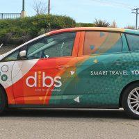 dibs vehicle wrap