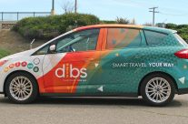 dibs vehicle wrap