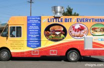 Food Truck full wrap