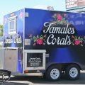 Tamales Corales Food Trailer Full Wrap