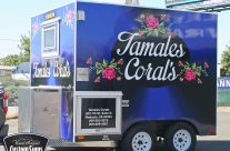 Tamales Corales Food Trailer Full Wrap