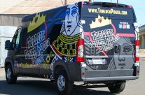 Turlock Poker Room van wrap