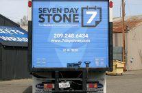 Seven Day Stone Box Truck Wrap
