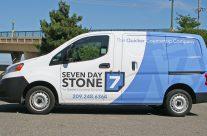 Seven Day Stone Van Wrap