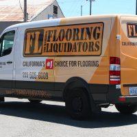 Flooring Liquidators 3/4 Van Wrap