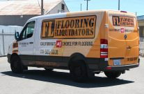 Flooring Liquidators 3/4 Van Wrap