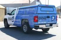Seven Day Stone truck wraps