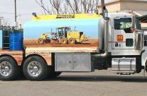 Stonefield Home Fuel Truck Wrap