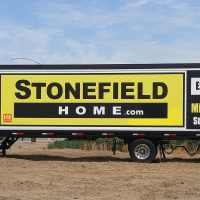 Stonefield Home Trailer Frame System